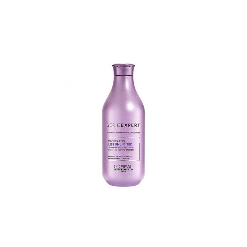 Shampooing lissage intense Liss Unlimited 300ml L'Oréal