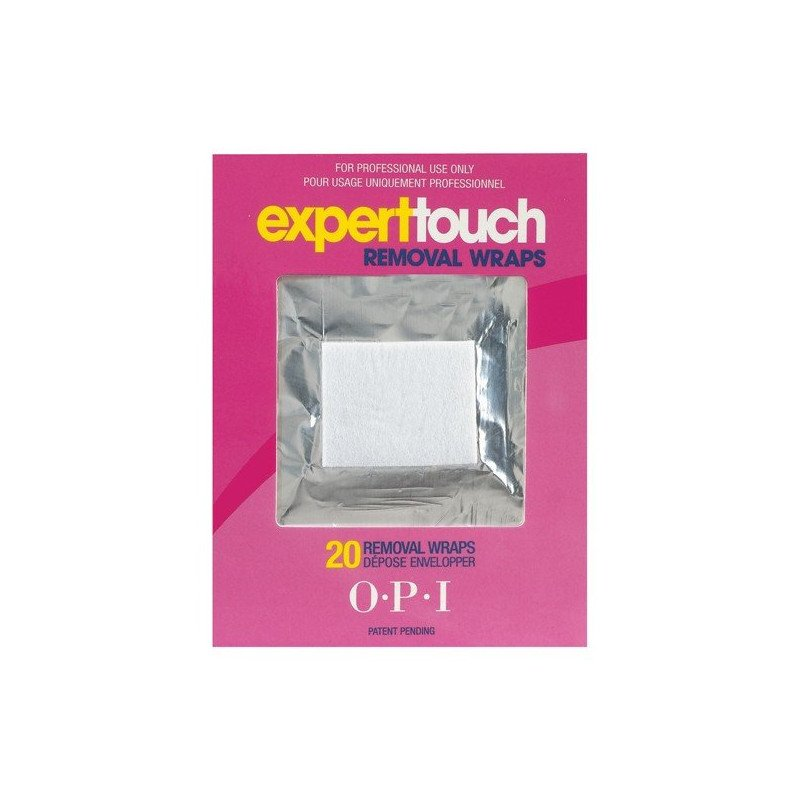 OPI Expert Touch Removal Wrap 20pcs