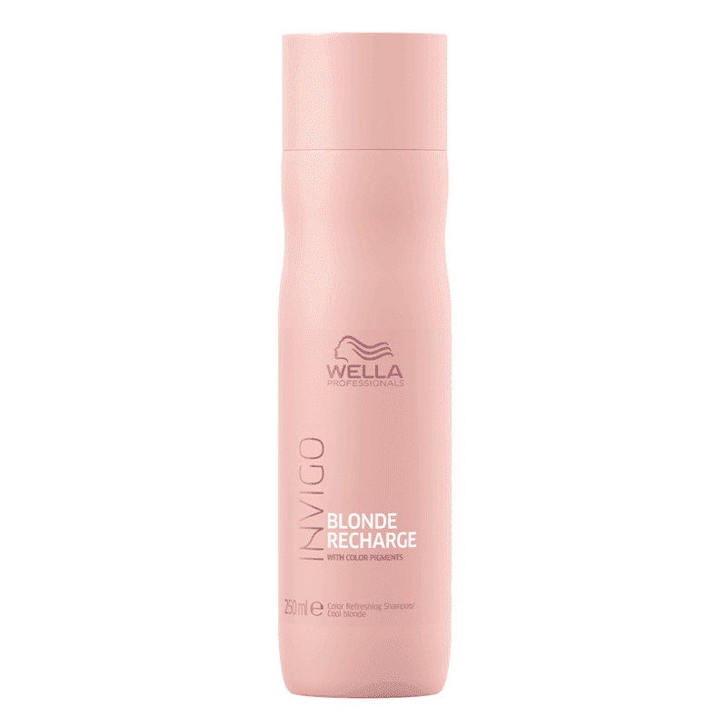 GAMME COLOR RECHARGE - SOINS PIGMENTANTS Cool Blonde Shampoo 250 ml wella