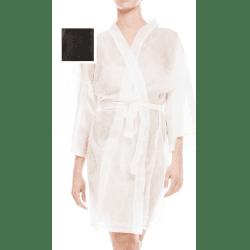 Kimono jetable noir x10