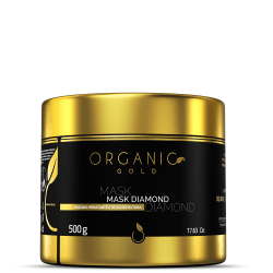 Mask Diamond Organic Gold