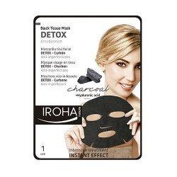 Masque Visage DETOX au Charbon et Extraits de Fruits IROHA