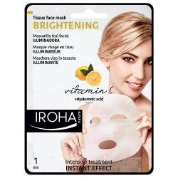 Masque tissus visage Vitamine C + acide hyaluronique - IROHA