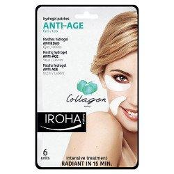 Patchs yeux et lèvres anti-âge Collagène - IROHA
