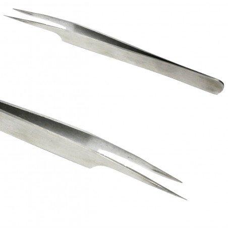 Pince à extensions de cils - Forme L
