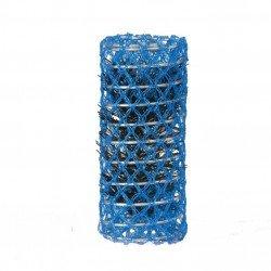 rouleau pour mise en plis diamètre 28 bleu lot 6