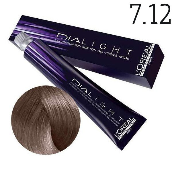7.12 - Blond cendré irisé - Dia Light