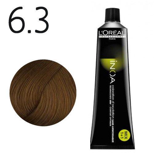 6.3 - Blond foncé doré - Inoa Fondamental doré
