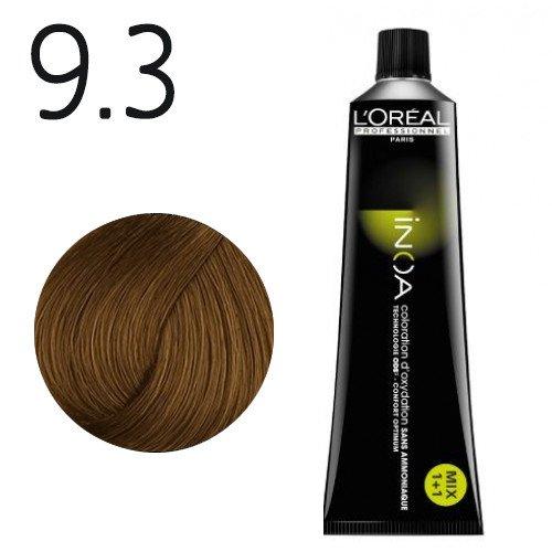9.3 - Blond très clair doré - Inoa Fondamental doré