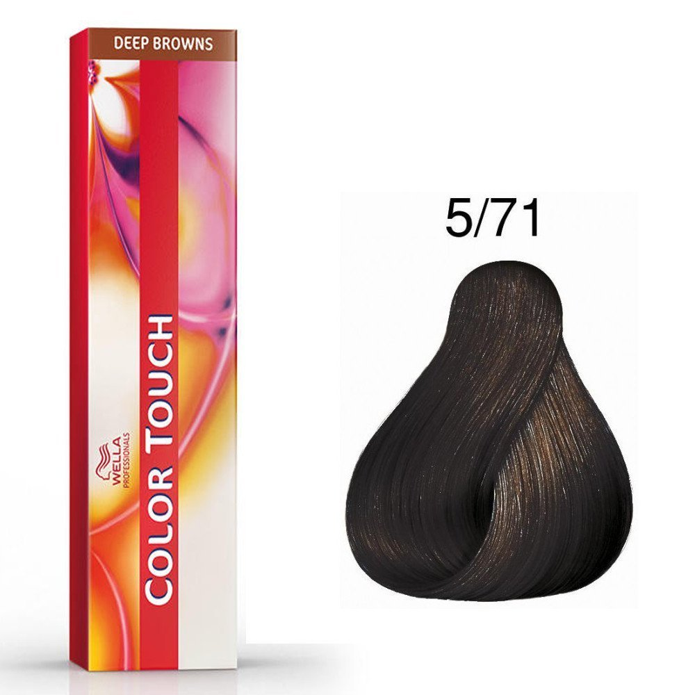 Color Touch Deep Browns 5/71 Châtain clair marron froid Color Touh
