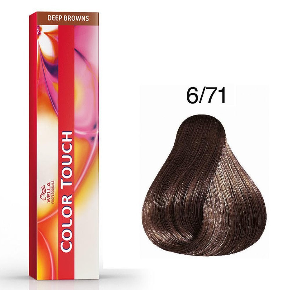 Color Touch Deep Browns 6/71 Blond foncé marron cendré