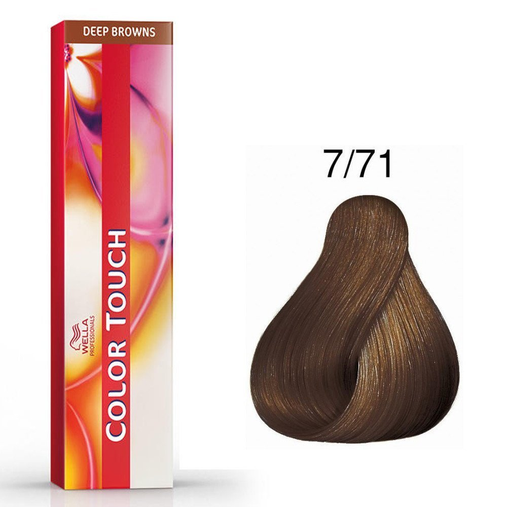 Color Touch Deep Browns 7/71 Blond marron froid