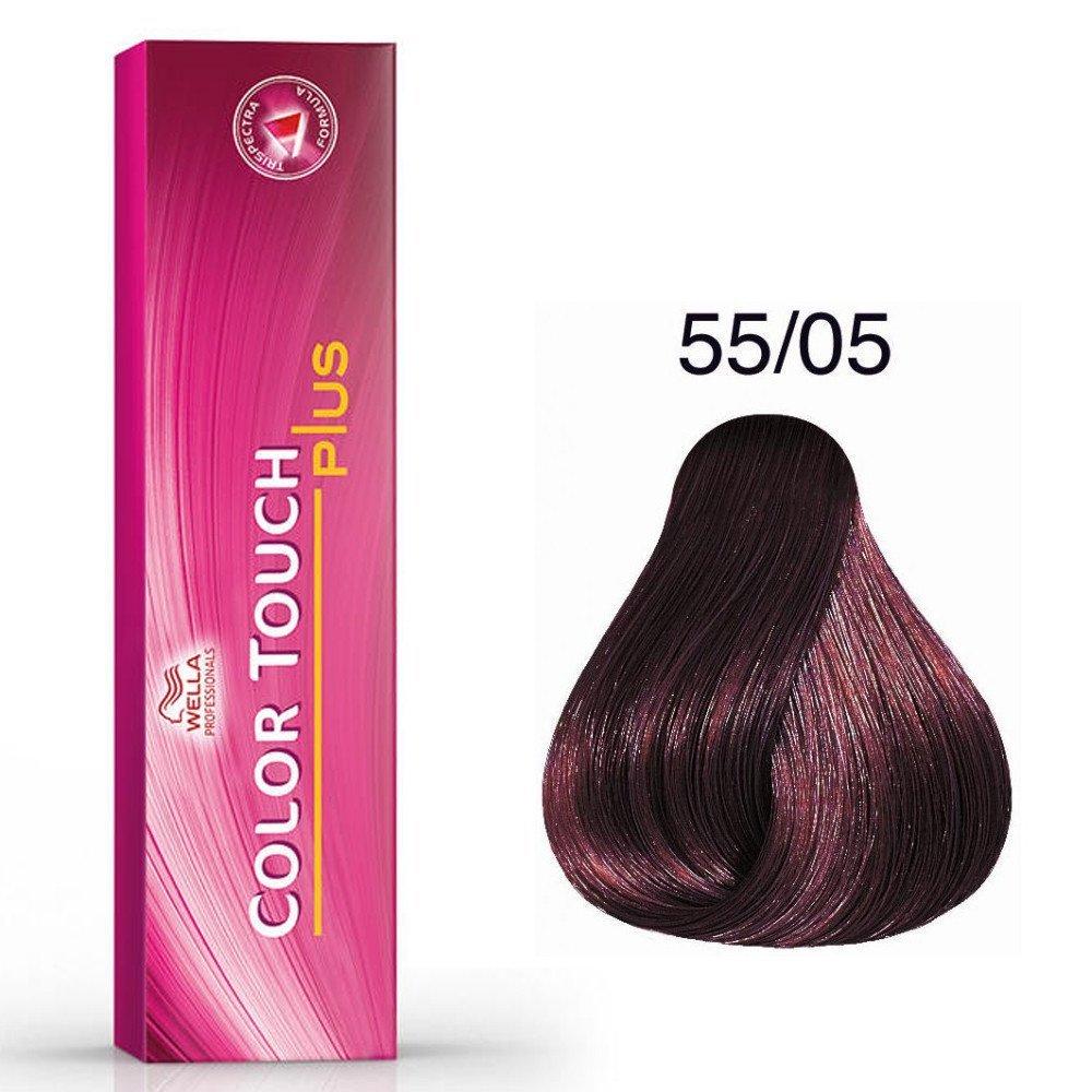 Color Touch Plus 55/05 Châtain clair intense naturel acajou
