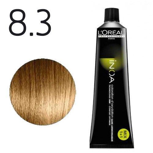 8.3 - Blond clair doré - Inoa Fondamental doré