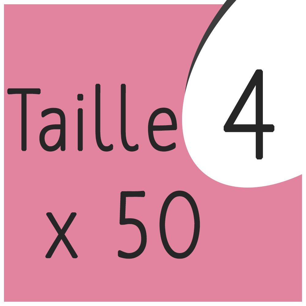 Taille 4 x 50 capsules