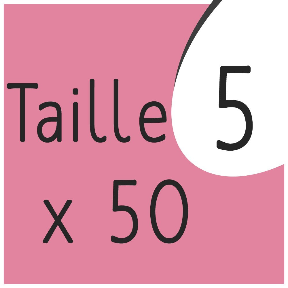 Taille 5 x 50 capsules