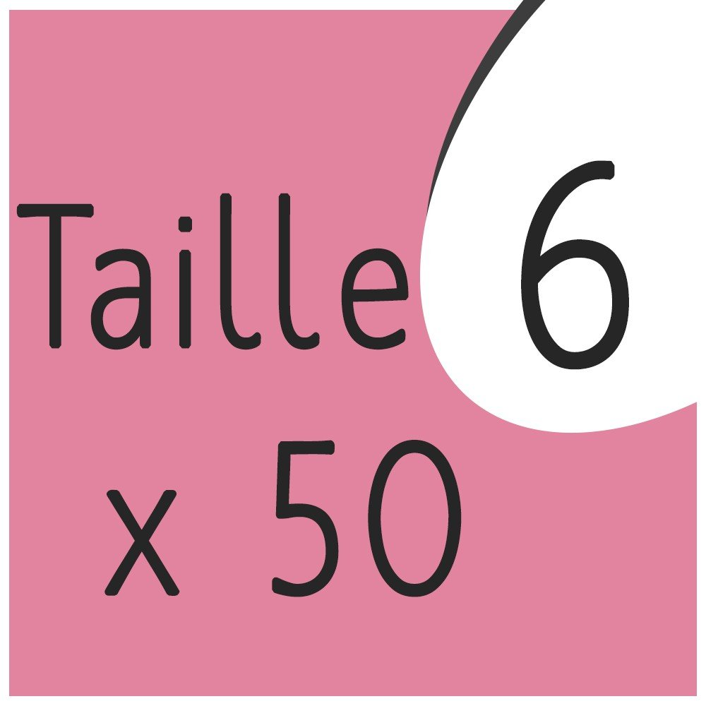 Taille 6 x 50 capsules