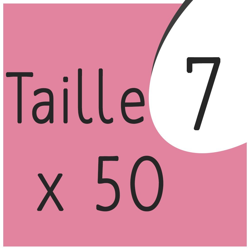 Taille 7 x 50 capsules