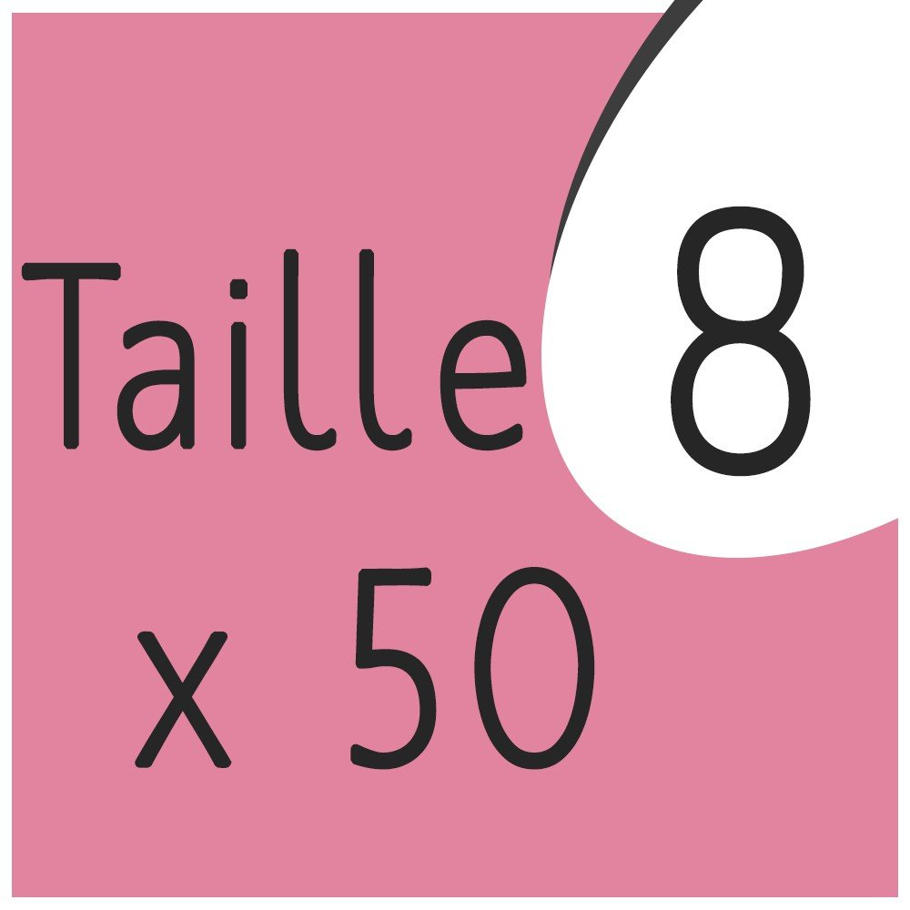 Taille 8 x 50 capsules