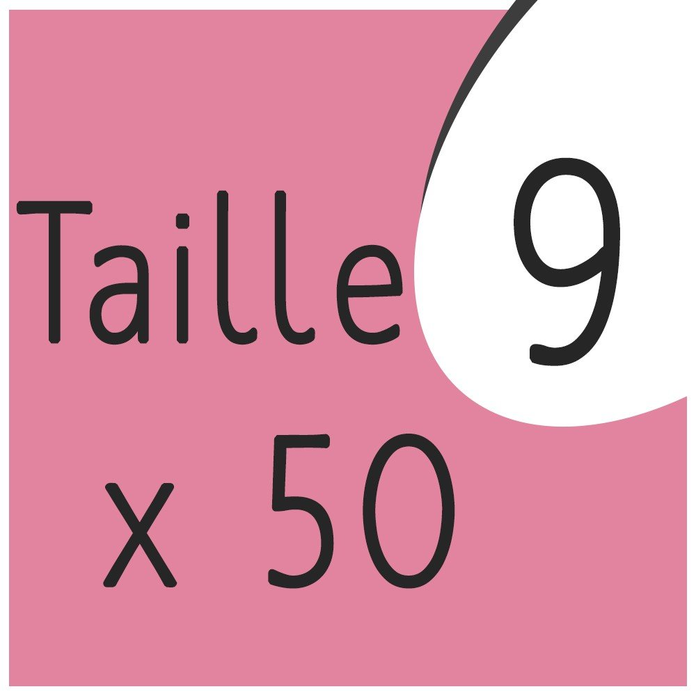 Taille 9 x 50 capsules