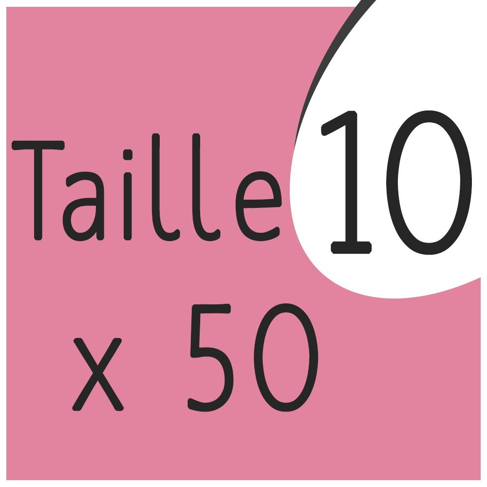Taille 10 x 50 capsules